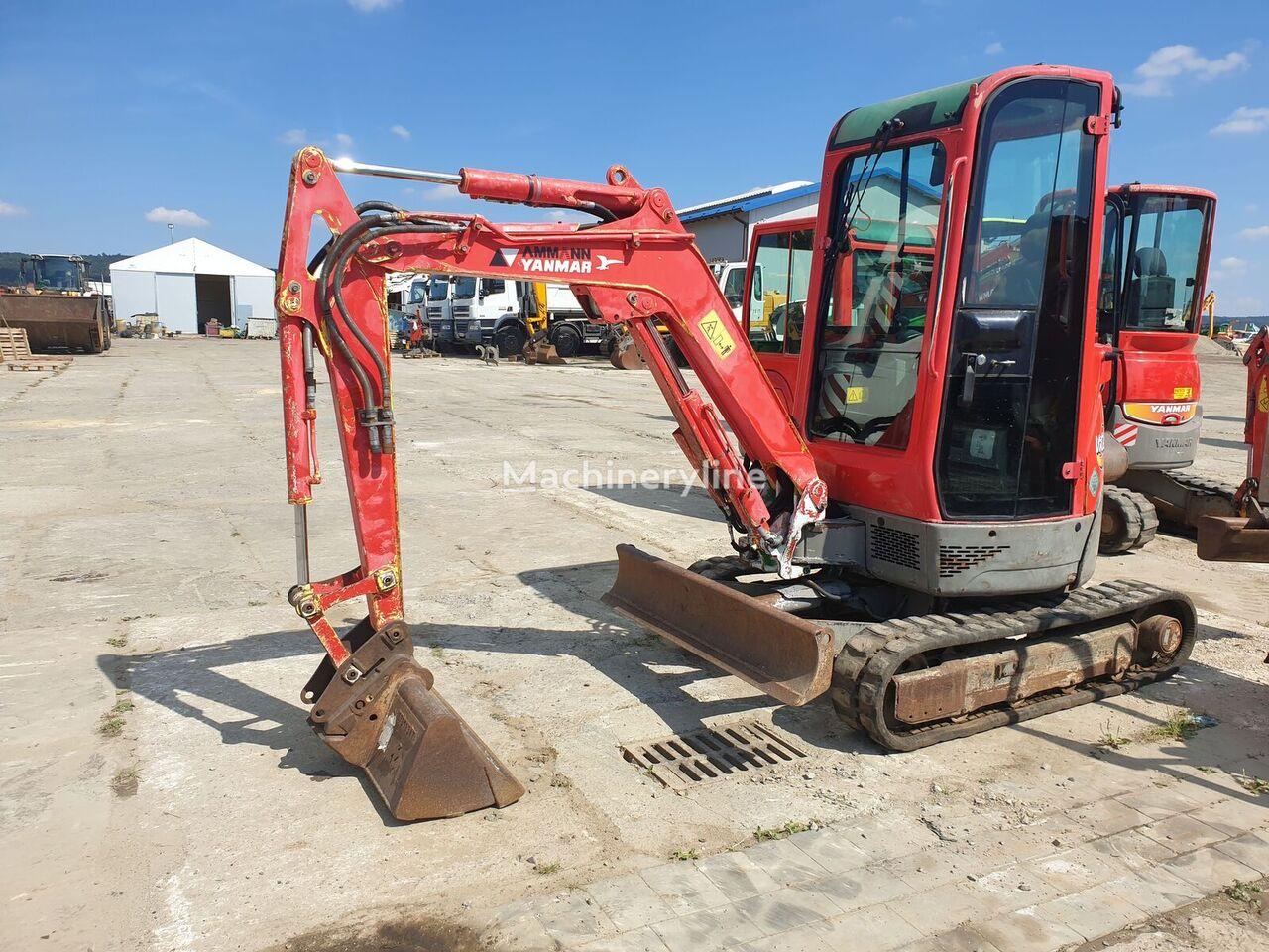 YANMAR Vio20-3 mini excavator