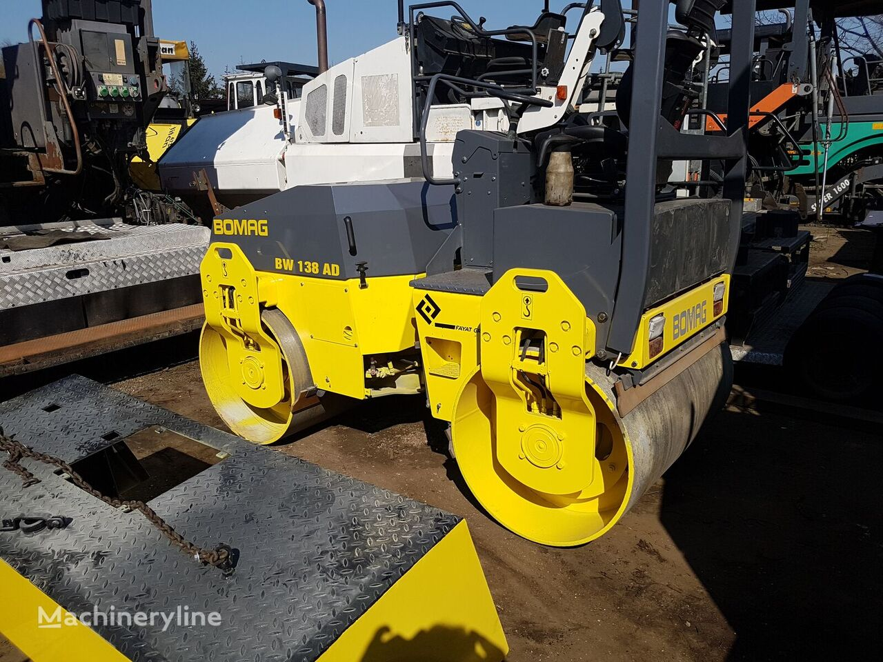 BOMAG BW 138 AD mini road roller