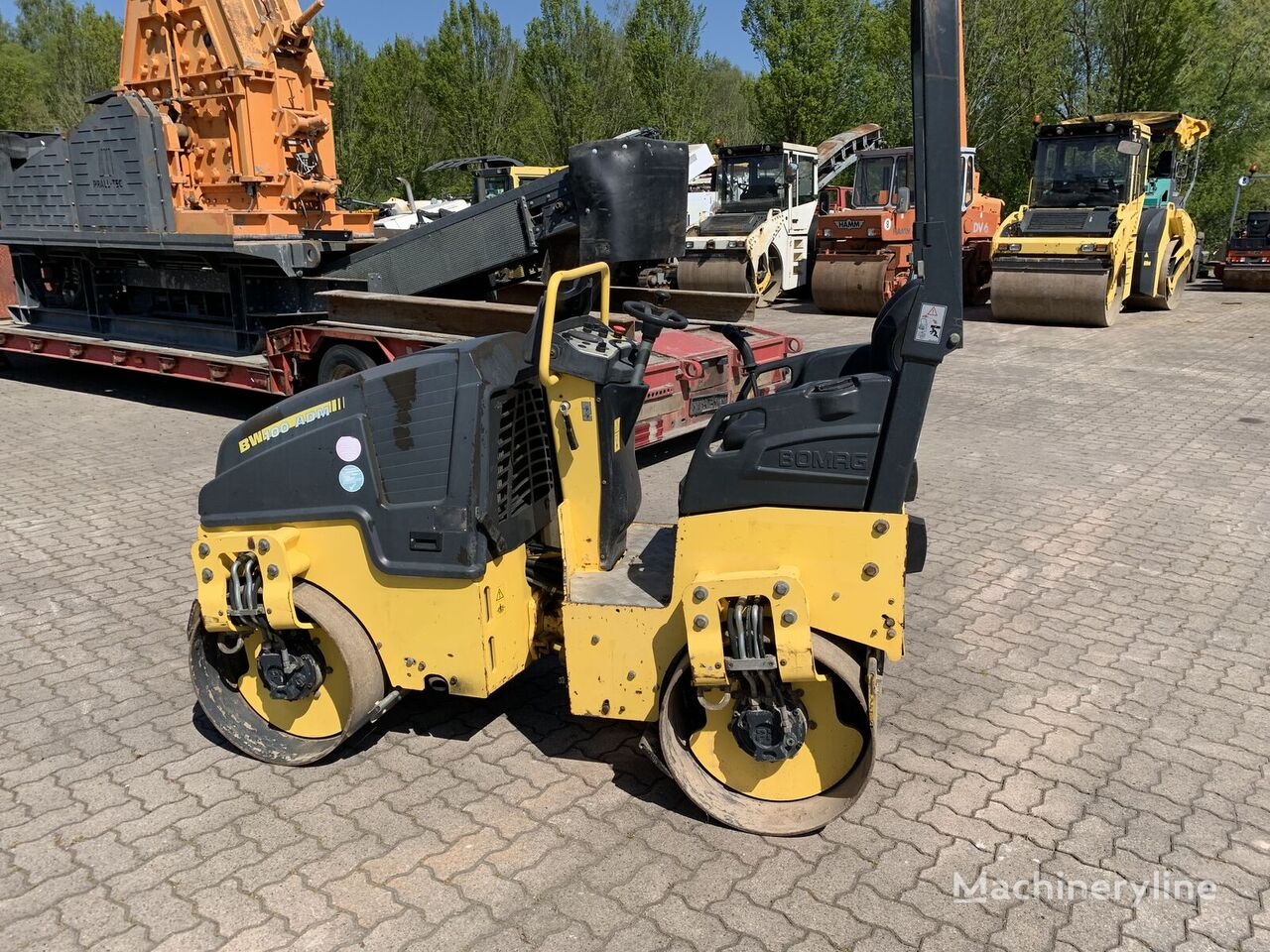BOMAG BW100ADM-5 mini road roller