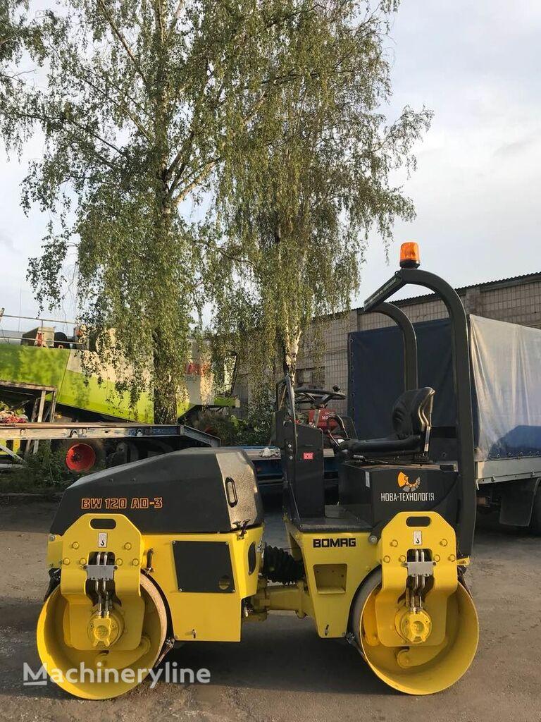 BOMAG BW120 AD-3(V NAYaVNOSTI) mini road roller