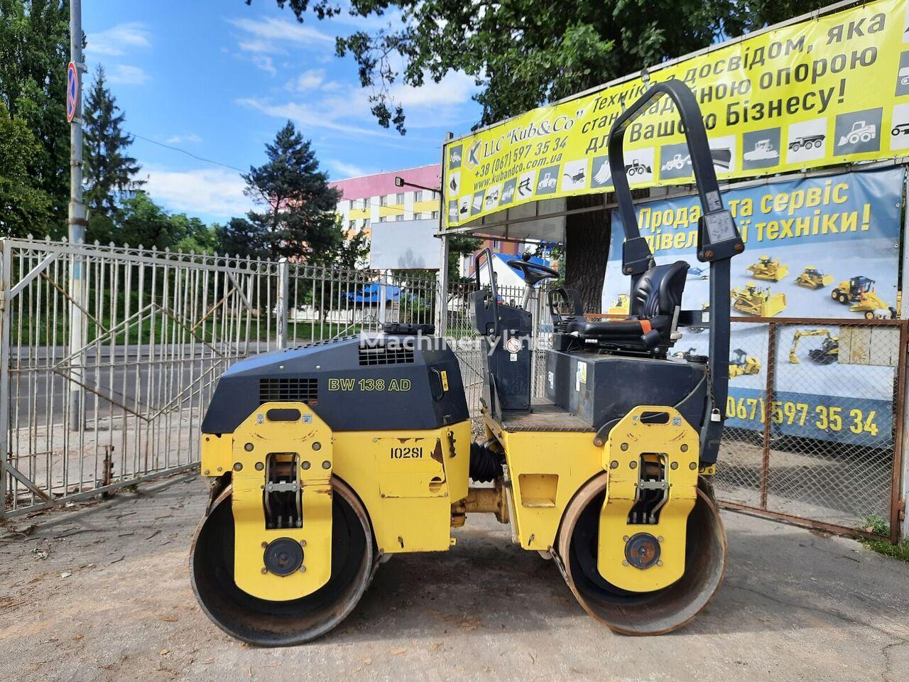BOMAG BW138AD mini road roller