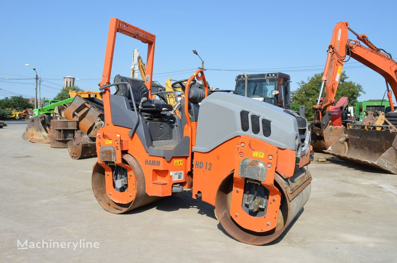 HAMM HD 12 VV mini road roller