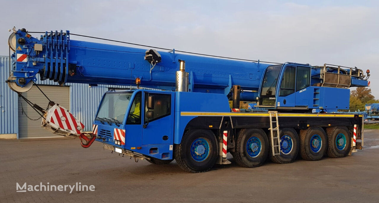 DEMAG AC 120-1 mobile crane