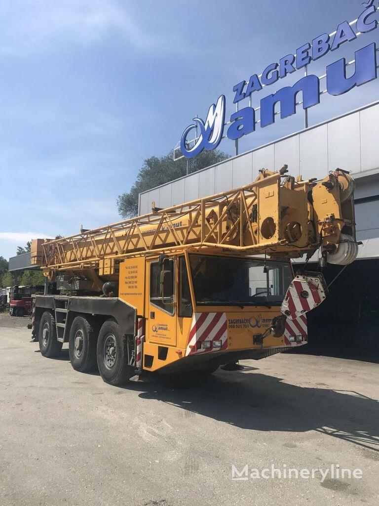 Demag Ac 155 Mobile Crane For Sale Croatia Zagreb  Fe16075