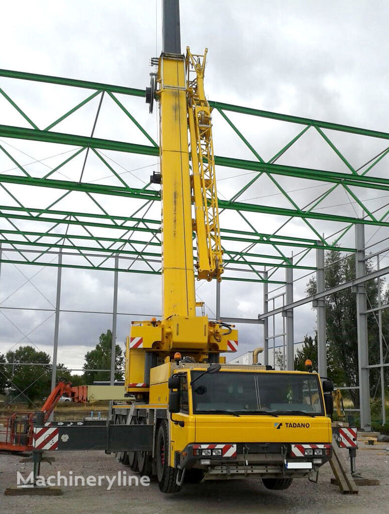 ATF 130G-5 on chassis FAUN ATF 130G-5, second winch mobile crane