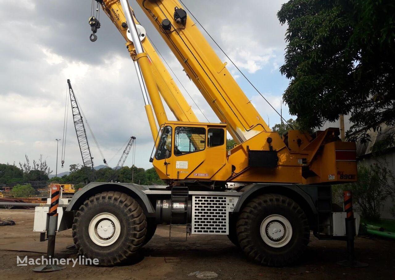 GROVE RT890E, 2010 mobile crane
