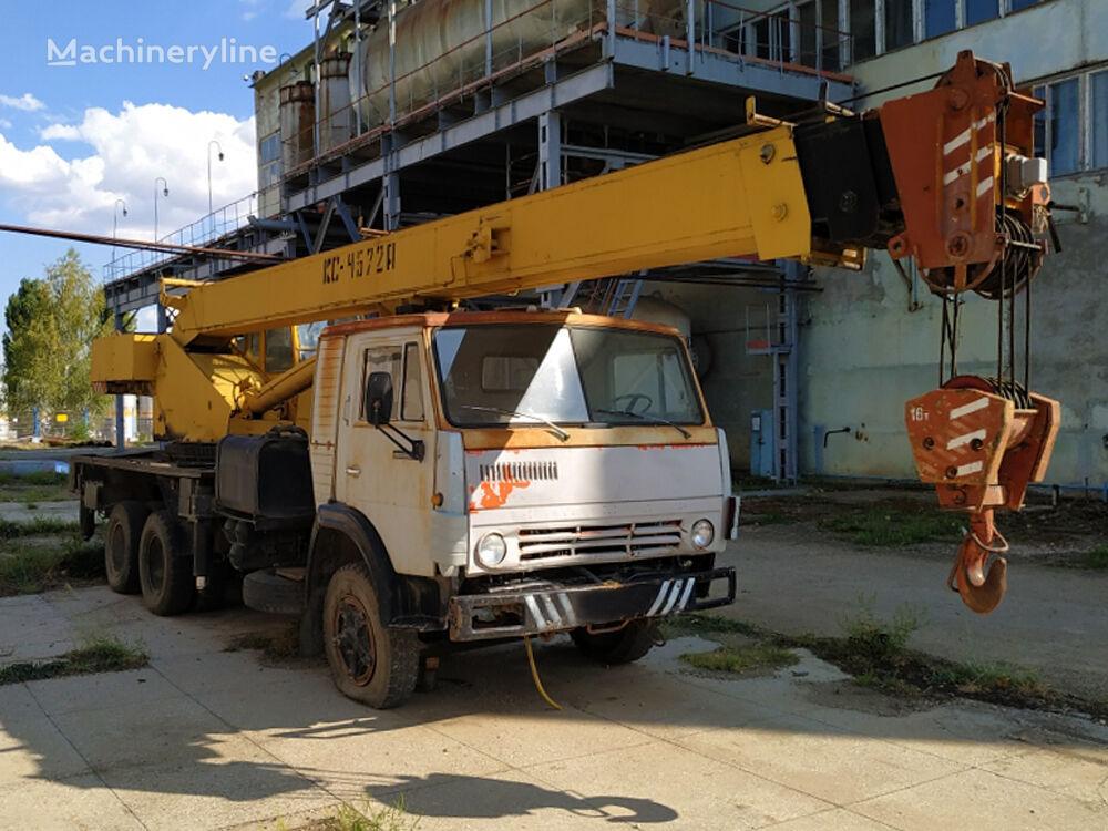 Galichanin KS-4572A on chassis KAMAZ 532130 mobile crane
