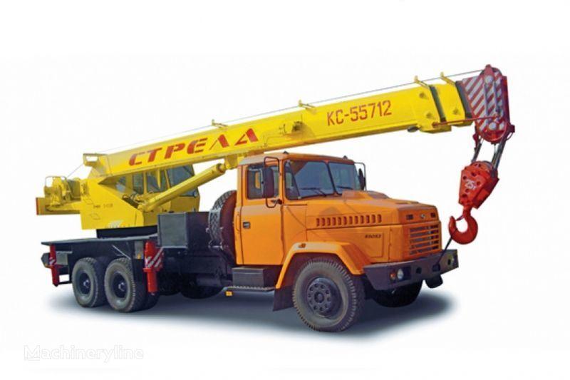 KRAZ 65053 (KC-55712) i KrAZ-63221 (KC-55712) mobile crane