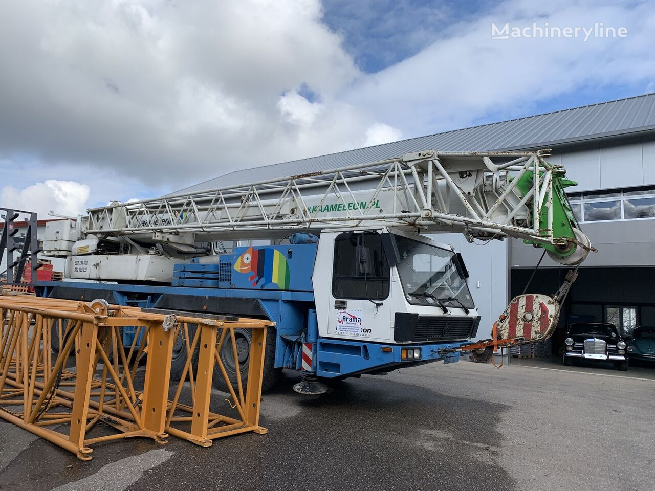 KRUPP KMK 4070 mobile crane