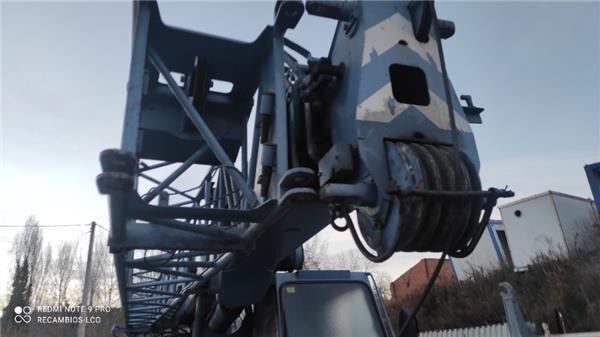 KRUPP Poleas Nailon KRUPP KMK 2025 TODO TERRENO 4X4X4 mobile crane