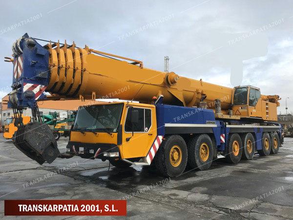 LIEBHERR LTM 1250-1 mobile crane