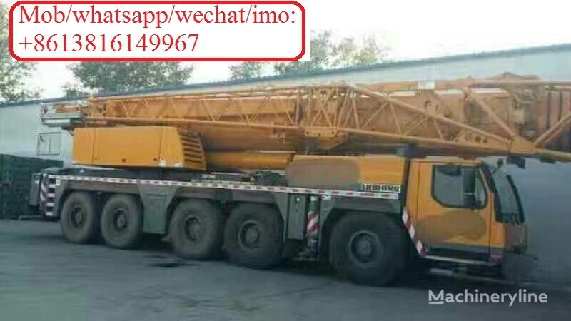 Kanglim  on chassis LIEBHERR LTM12000 mobile crane