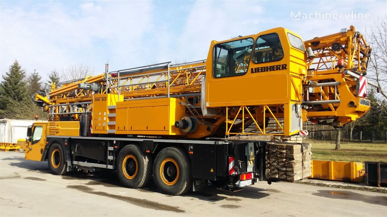 LIEBHERR MK 63 mobile crane