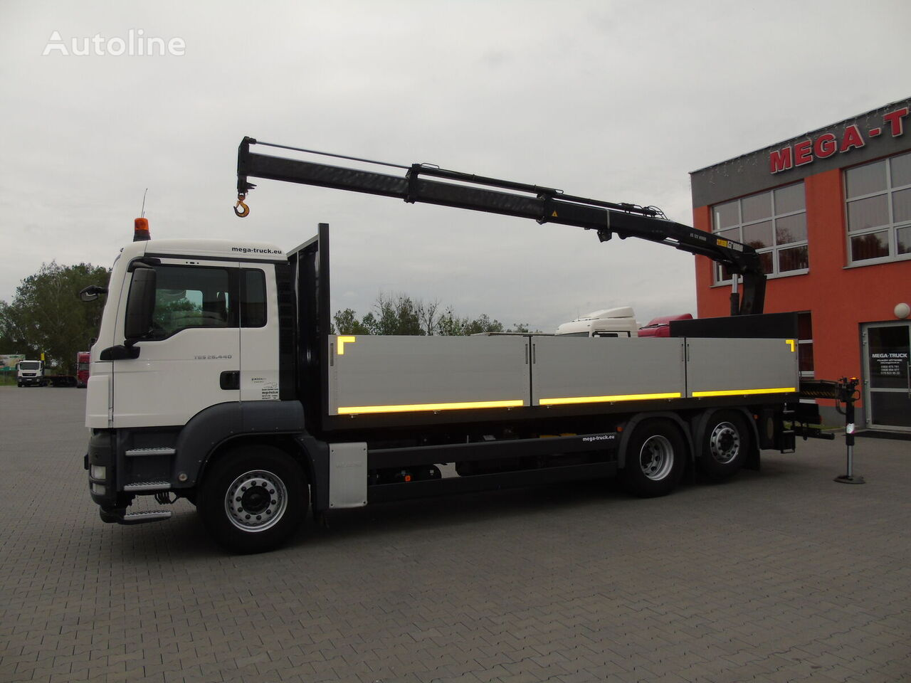 MAN  TGS 26.440 6X2 HIAB XS 122 IMPORT FRANCE mobile crane