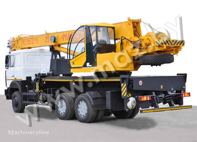 KS 3579-6, 7, 8 on chassis MAZ mobile crane