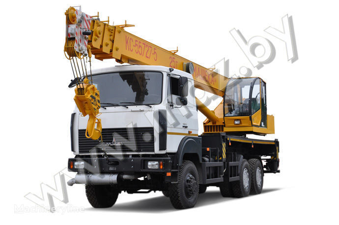 MAZ KS-55727-5-11, 12, 21, 22 mobile crane