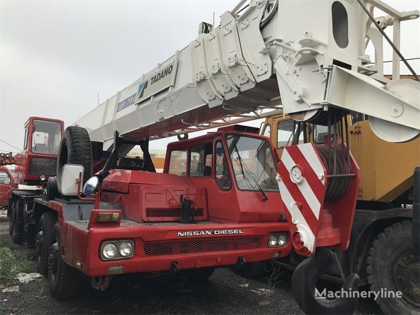 Tadano TG500E on chassis NISSAN   mobile crane