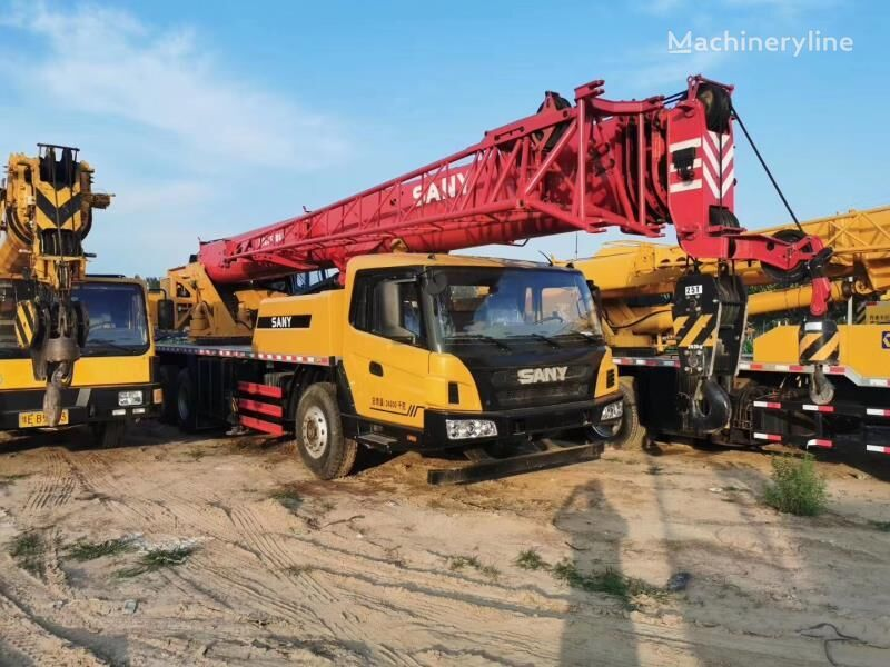 STC250 on chassis SANY STC250 25ton  mobile crane