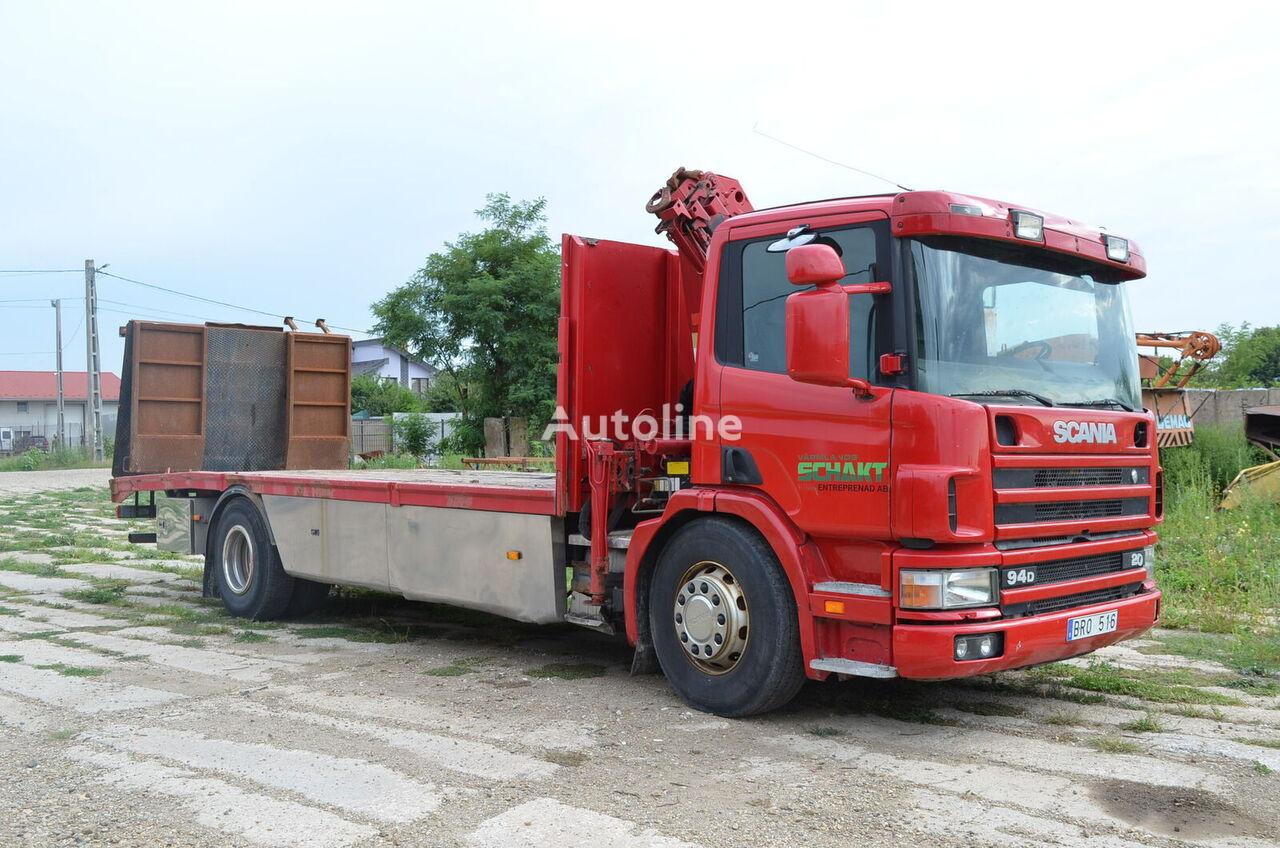 SCANIA 94D 220 mobile crane