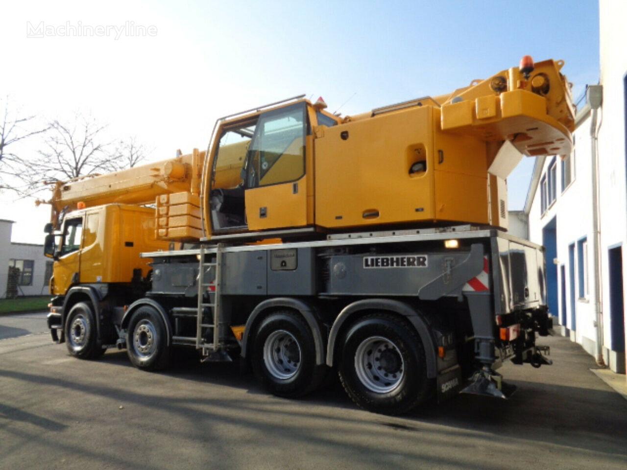 Liebherr LTF 1045 on chassis SCANIA R380 mobile crane