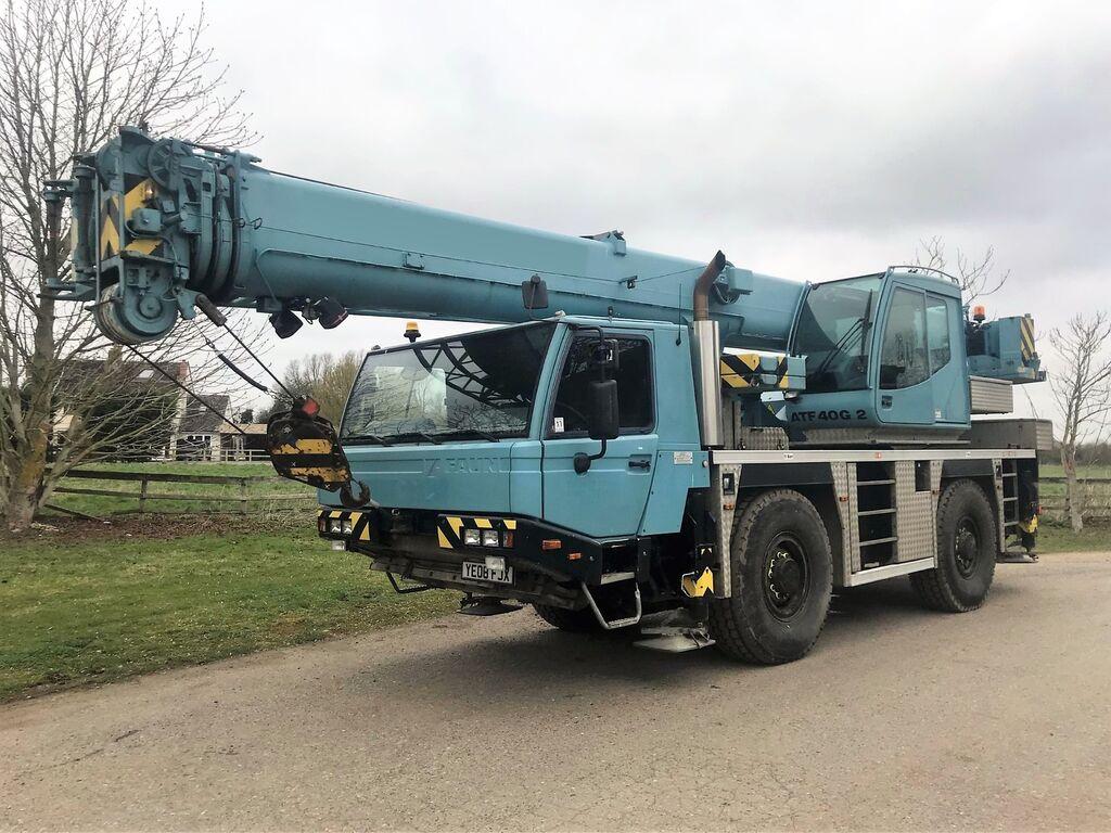 TADANO FAUN ATF 40G-2 mobile crane