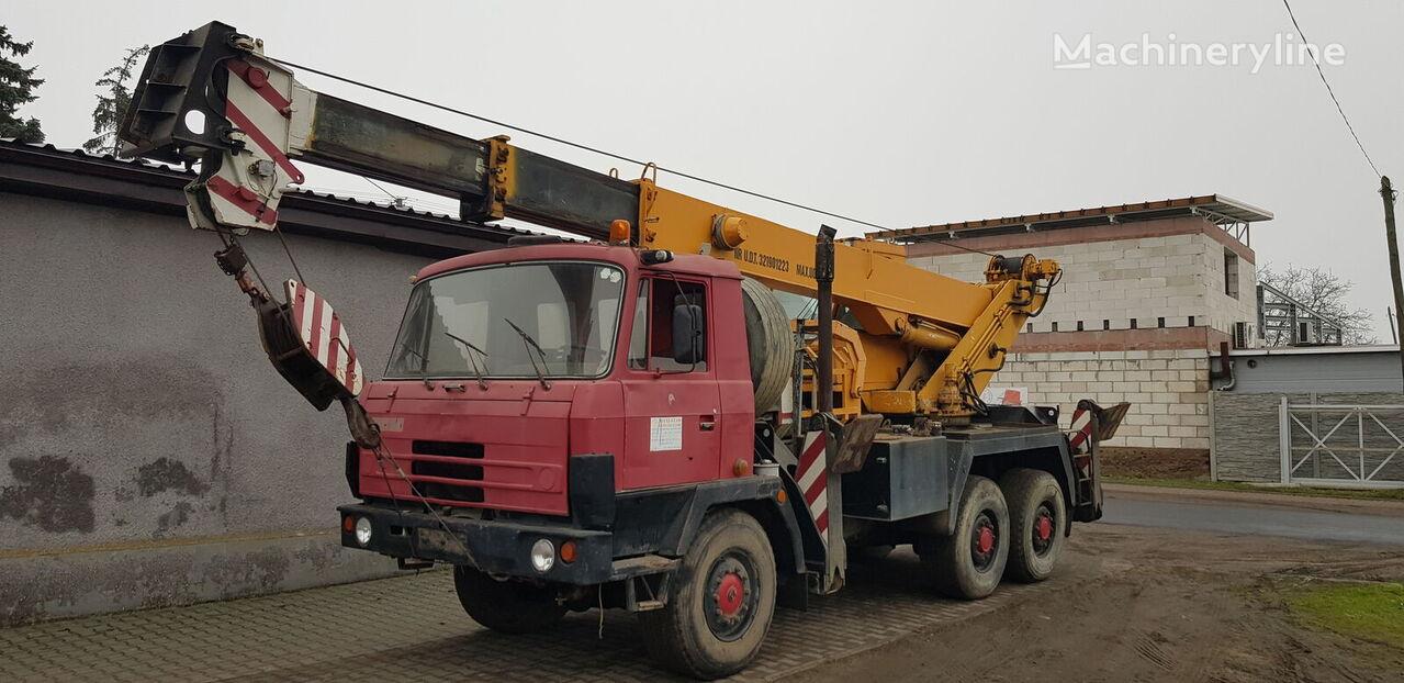 TATRA 815 mobile crane