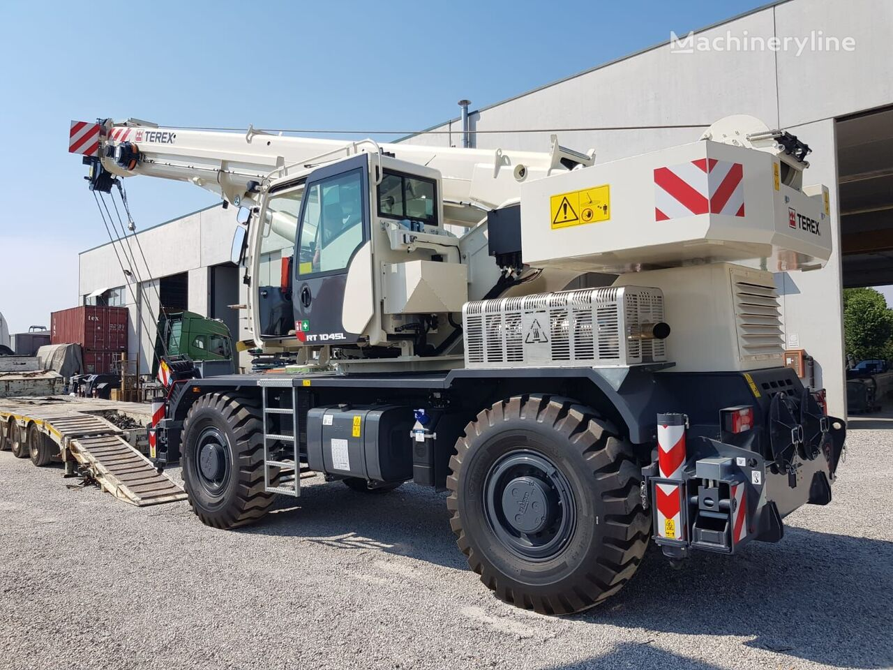 new RT1045L on chassis TEREX mobile crane