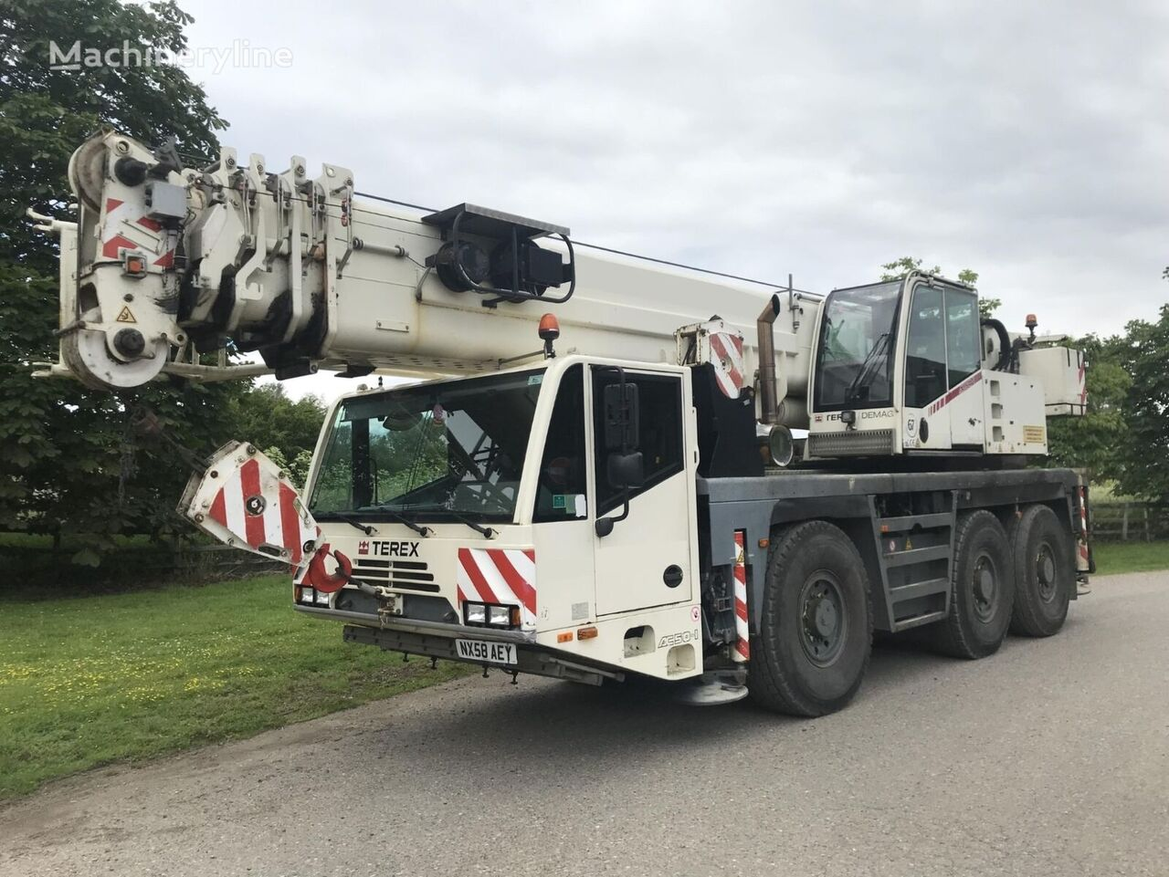TEREX AC 50-1 mobile crane