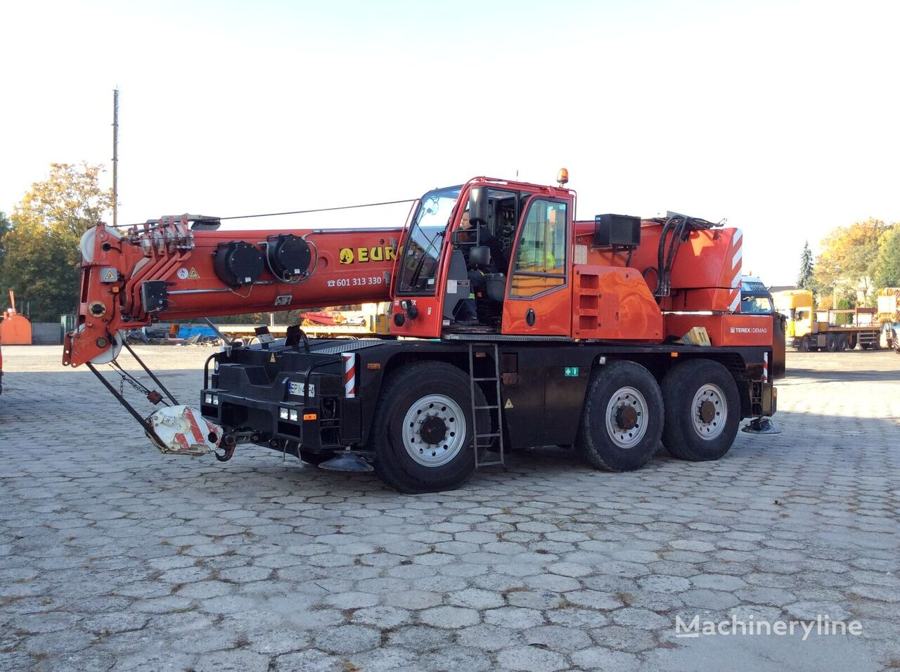 TEREX DEMAG AC40 City mobile crane