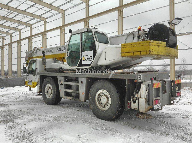 PPM ATT 400-2 on chassis TEREX  PPM mobile crane