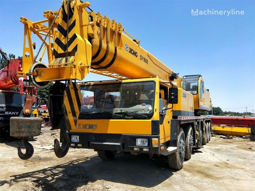 XCMG QY100K mobile crane