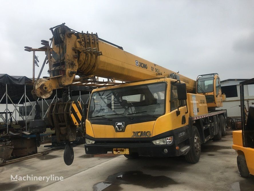 QY25K on chassis XCMG QY25K mobile crane