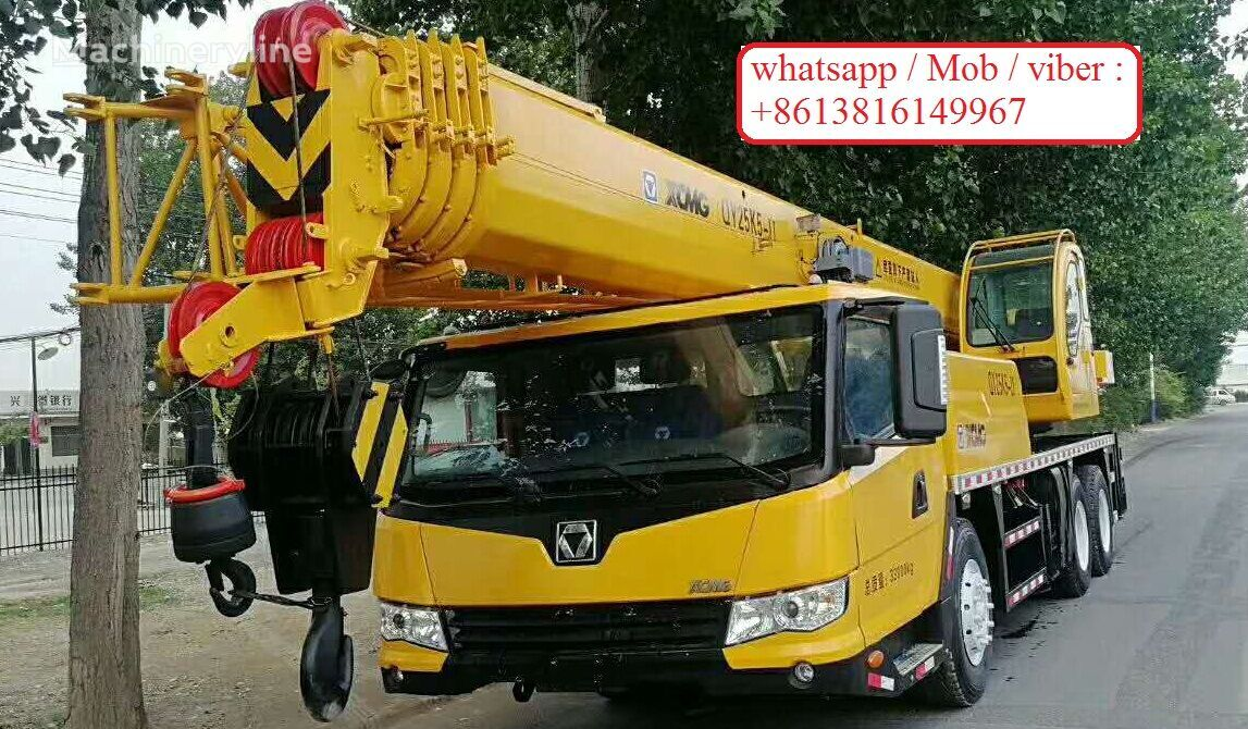 XCMG QY25K5 on chassis XCMG QY25K5 mobile crane