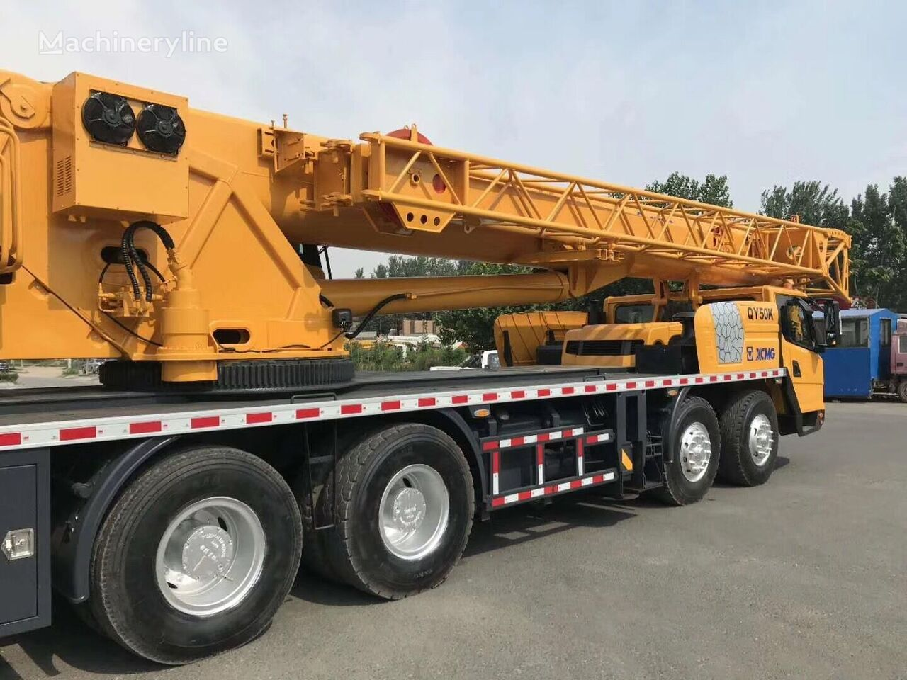 qy50k on chassis XCMG QY50K mobile crane