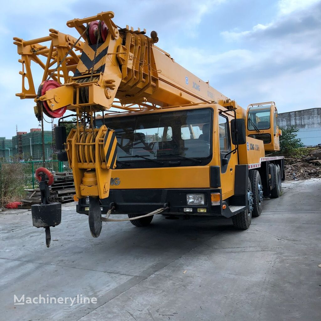 QY50K-2 on chassis XCMG QY50K-2 mobile crane