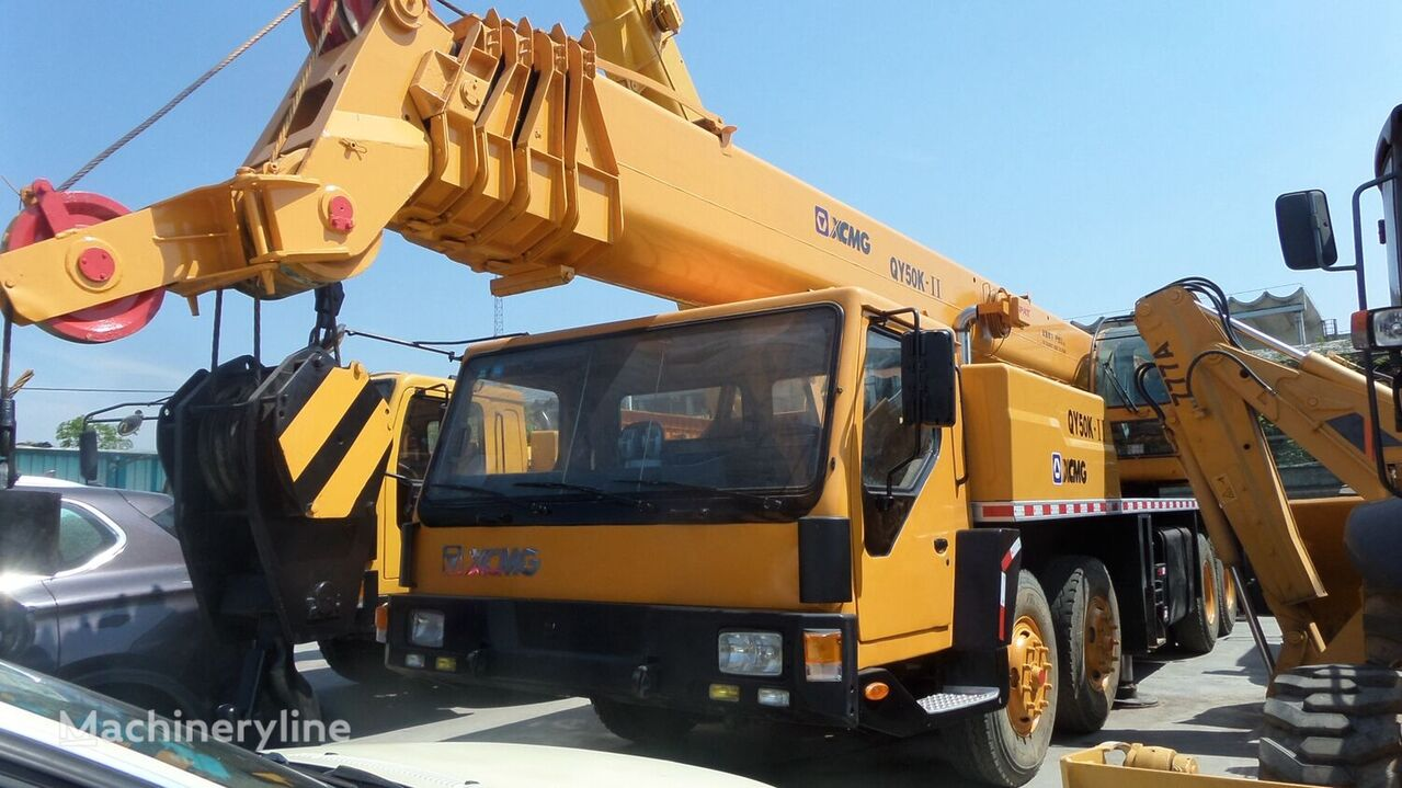 QY50K on chassis XCMG QY50K-2 mobile crane