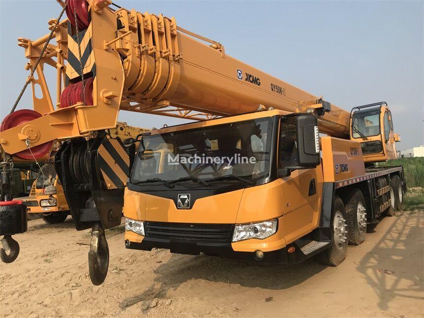 XCMG QY50K-II mobile crane