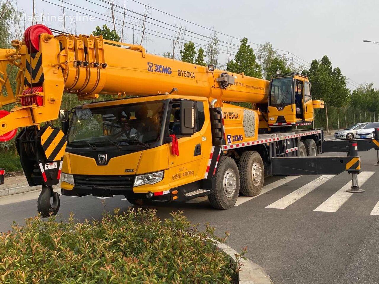 XCMG QY50KA used crane mobile crane