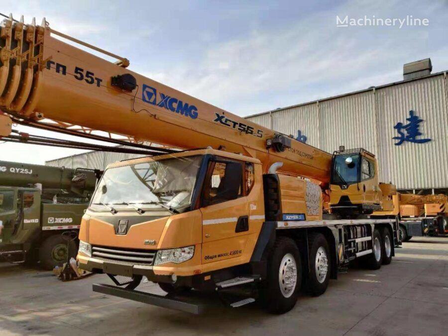 new XCMG XCT55_S mobile crane