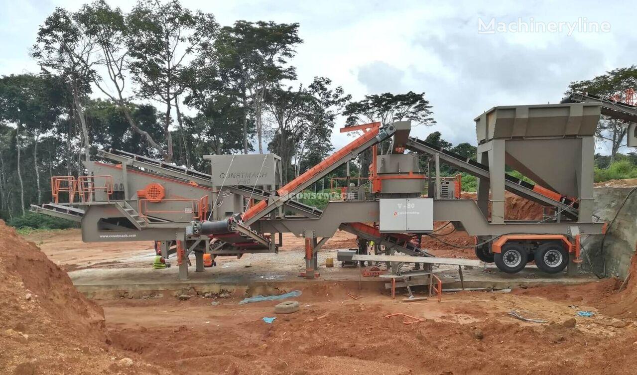 new CONSTMACH V-80  MOBILE VSI CRUSHER – SAND MAKING PLANT mobile crushing plant