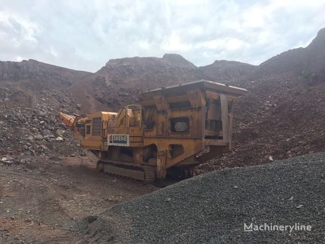 EXTEC C12+ mobile crushing plant
