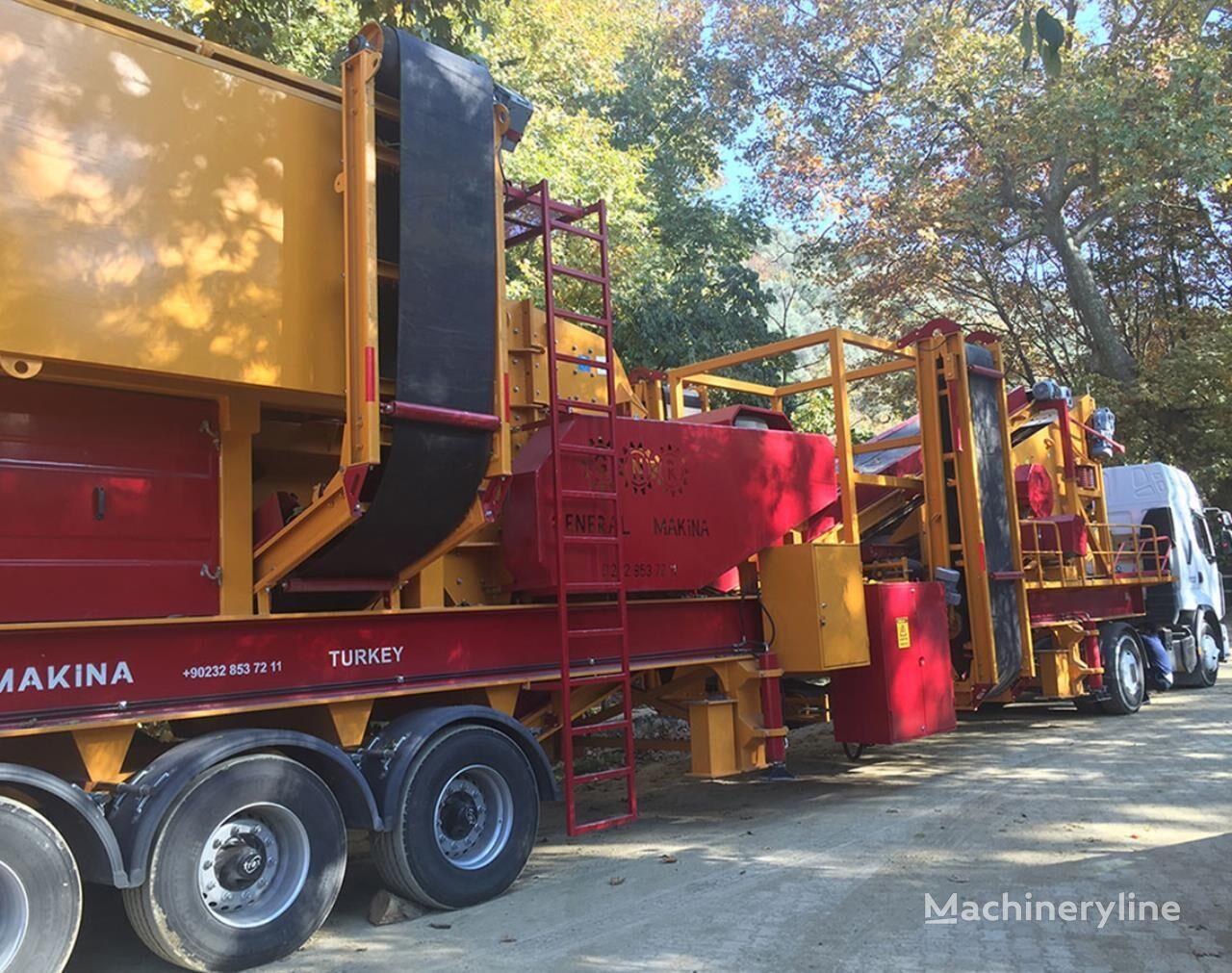 new GENERAL MAKİNA GENERAL 03 mobile crushing plant