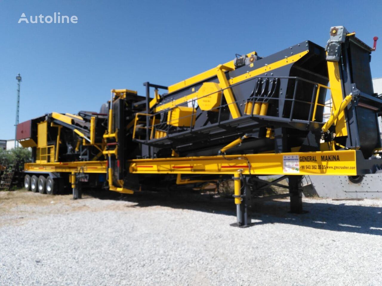 new GENERAL MAKİNA General 02/Rotornaya 1250h1400 mobile crushing plant