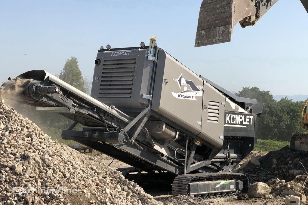 KOMPLET KROKODILE mobile crushing plant
