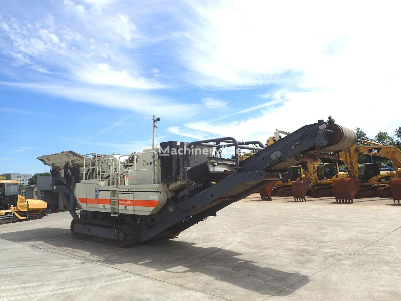METSO mobile crushing plant