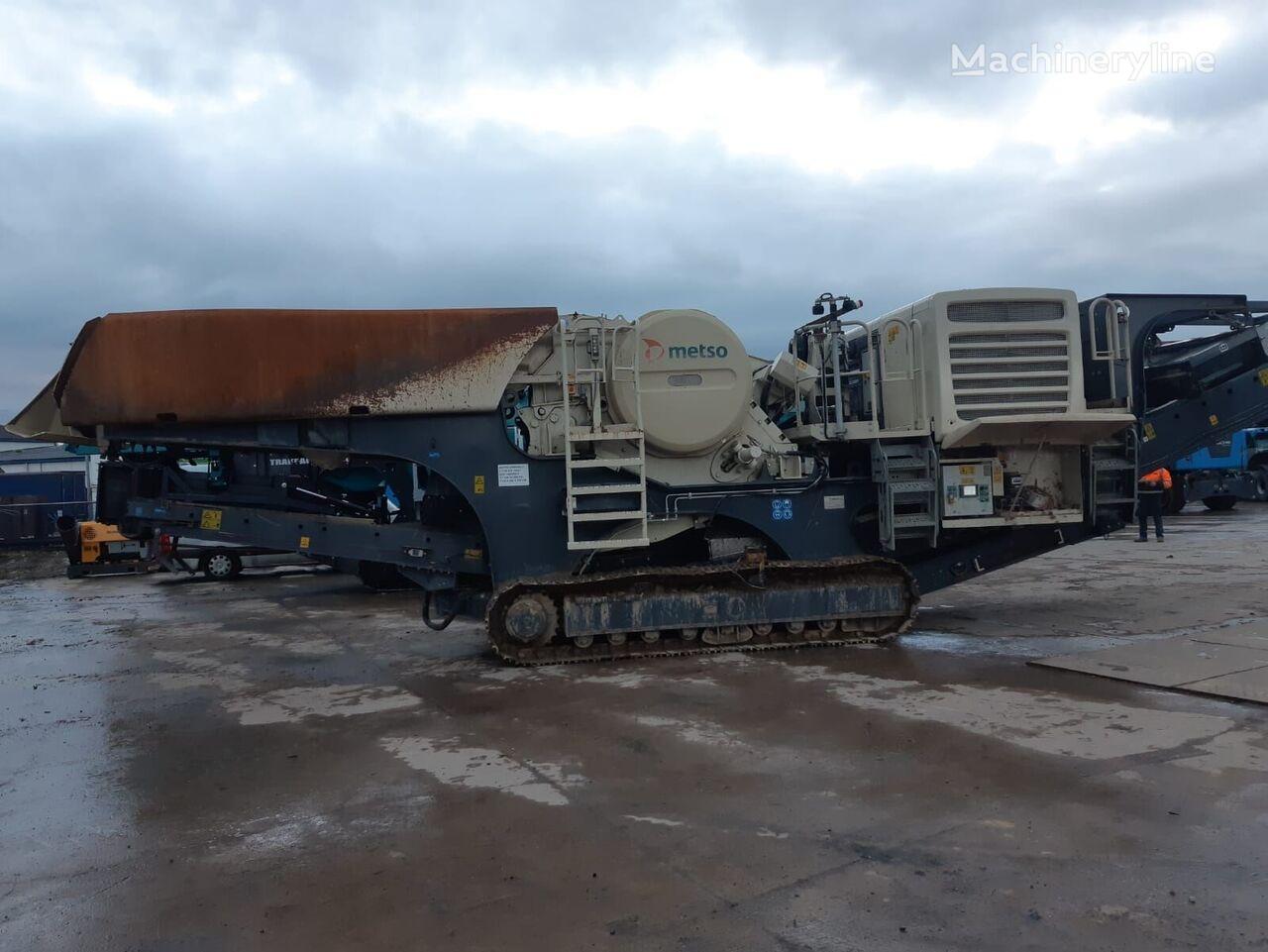 METSO LT106 mobile crushing plant