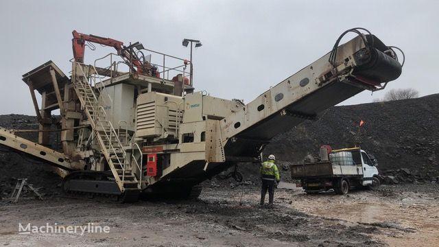METSO LT125 mobile crushing plant