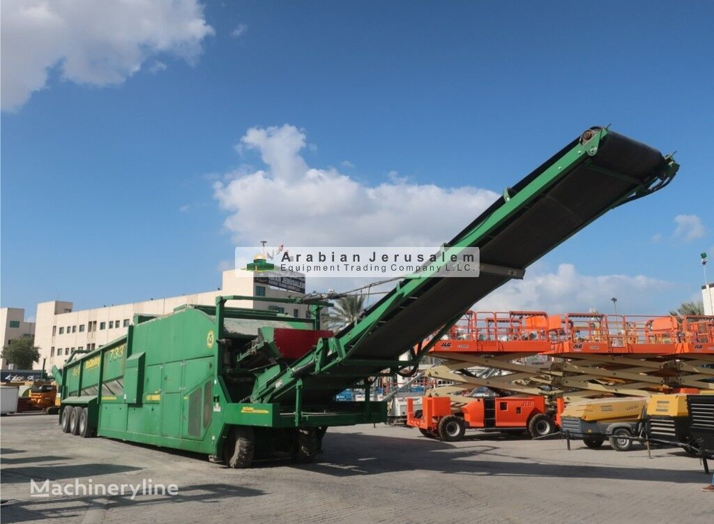 McCLOSKEY 733RE (ID-18645) mobile crushing plant