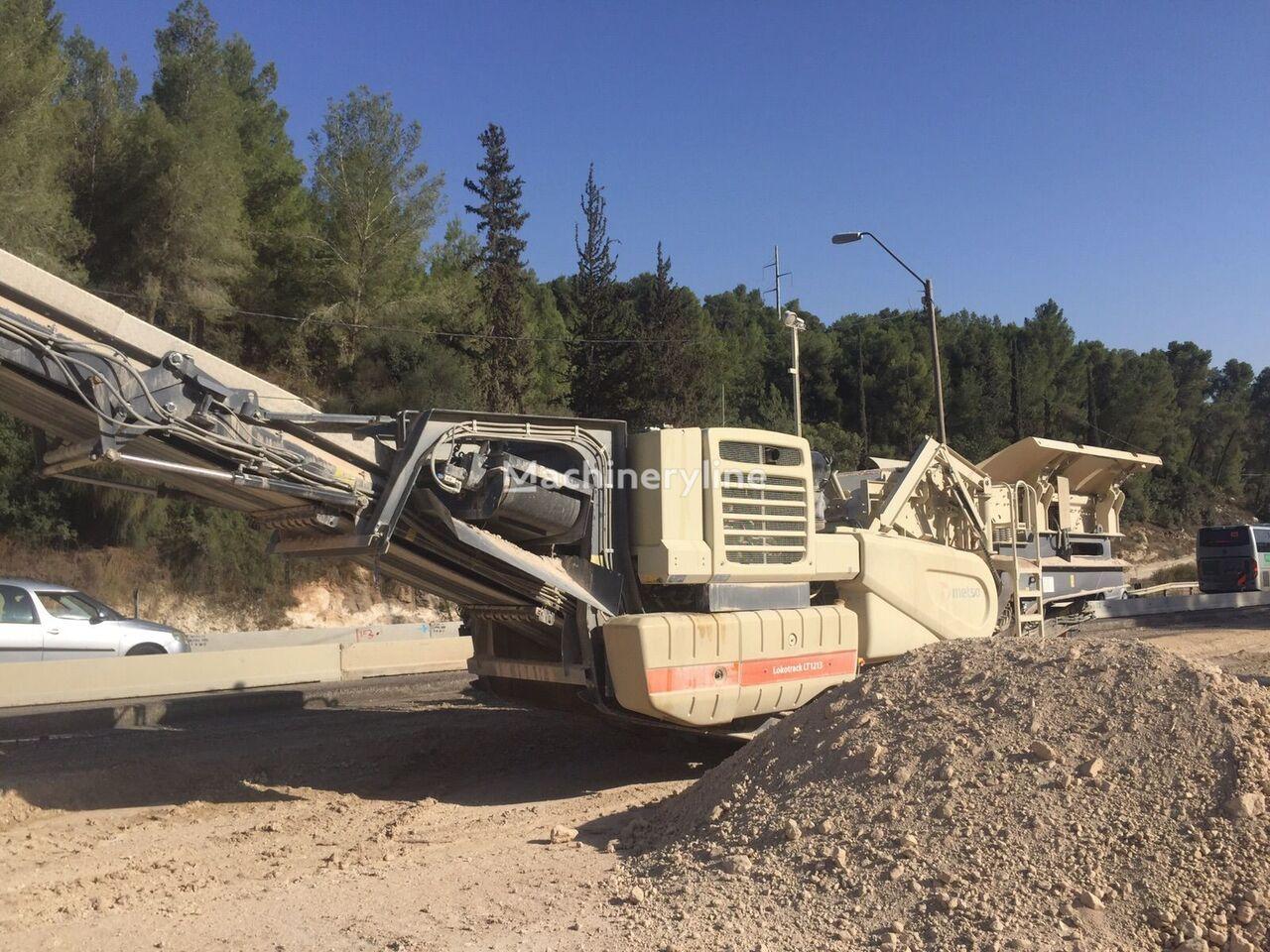 NORDBERG LT1213 mobile crushing plant
