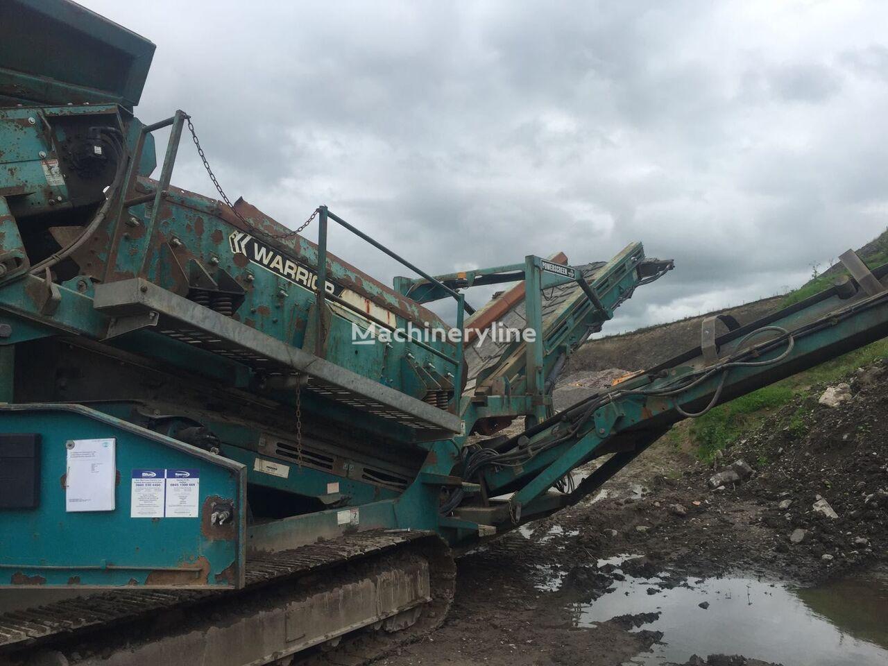 POWERSCREEN 1400 Warrior mobile crushing plant